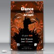 Dance Party Background. Vector Illustration - Stockvectorbeeld