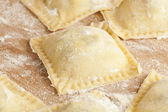 Fresh Homemade Ravioli — Stock Photo