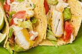 Tacos de pescado fresco casero — Foto de Stock