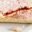 Hot Strawberry Toaster Pastry - Stock Photo