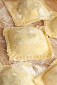 Fresh Homemade Ravioli — Stock Photo