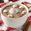 Stock Photo: Gourmet Hot Chocolate