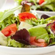 Stock Photo: Fresh Green Organic Garden Salad