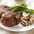 Juicy Organic Grilled Steak - Stock Photo