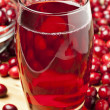 Fresh Organic Cranberry Juice - Stockfoto