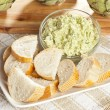 Stock Photo: Fresh Organic Artichoke Dip