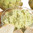 Fresh Organic Artichoke Dip — Stock Photo #19965237