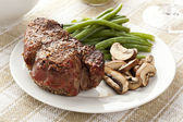 Juicy Organic Grilled Steak — Stock Photo