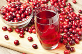 Fresh Organic Cranberry Juice — Stock Photo