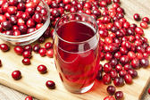 Fresh Organic Cranberry Juice — Stock Photo