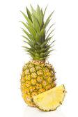 Fresh Yellow Organic Pineapple — Stock Photo
