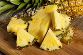 Fresh Yellow Organic Pineapple — Stock Photo