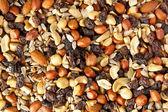 Alle natuurlijke zelfgemaakte trail mix — Stockfoto