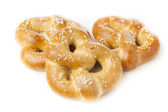 Homemade Warm Soft Pretzel — Stock Photo