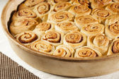 Homemade Mini Cinnamon Rolls — Stock Photo