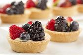 Fresh Homemade Fruit Tart — Stock Photo