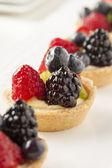 Torta de frutas caseiro — Foto Stock