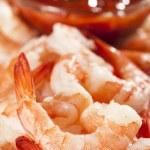 Fresh Organic Shrimp Cocktail — Stock Photo #20055309