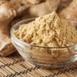 Fresh Organic Ginger - 图库照片