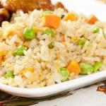 Homemade Fried Rice — Stock Photo #20059985