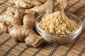 Fresh Organic Ginger — 图库照片