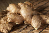 Fresh Organic Ginger — Stock Photo