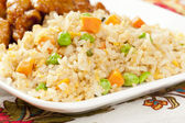 Homemade Fried Rice — Stock Photo