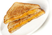 Traditional Homemade Grilled Cheese Sandwich — Stock Photo
