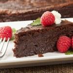 Homemade Chocolate Cake — Stock Photo #20105739