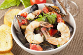 Homemade Italian Cioppino — Stock Photo