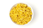 Macaroni and Cheese in a bowl — Foto Stock