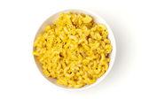 通心粉和奶酪在碗里 — 图库照片