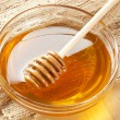 Golden Organic Honey — Stock Photo