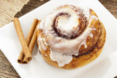 Fresh Homemade Cinnamon Rolls — Stock Photo