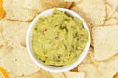 Fresh Homemade Guacmole — Stock Photo
