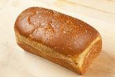Fresh Organic Whole Wheat Bread — Stock Photo