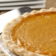 Fresh Homemade Pumpkin Pie — Stock Photo #20174121