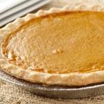 Fresh Homemade Pumpkin Pie — Stock Photo #20174227