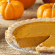 Fresh Homemade Pumpkin Pie - Foto de Stock