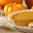 Fresh Homemade Pumpkin Pie — Stock Photo #20174425