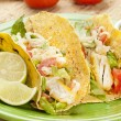 Homemade fresh fish tacos — Stock Photo #20174939