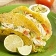 Homemade fresh fish tacos — Stock Photo #20174963