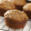 Fresh Homemade Bran Muffins — Stock Photo