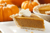 Fresh Homemade Pumpkin Pie — ストック写真