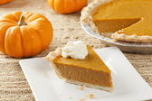 Fresh Homemade Pumpkin Pie — Stok fotoğraf
