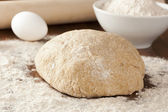 Fresh Homemade Bread Dough — Stock Photo