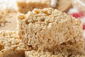 Marshmallow Crispy Rice Treat — Stock Photo