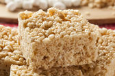 Marshmallow Crispy Rice Treat — 图库照片