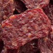 Dried Processed Beef Jerky — Stock Photo