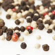 图库照片: Raw Whole Four Peppercorn Blend